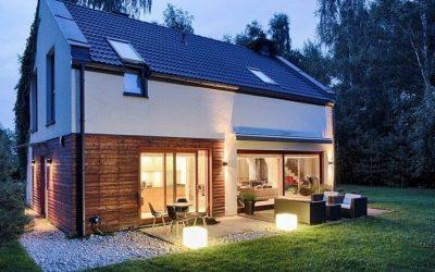 Como iluminar el exterior de una casa