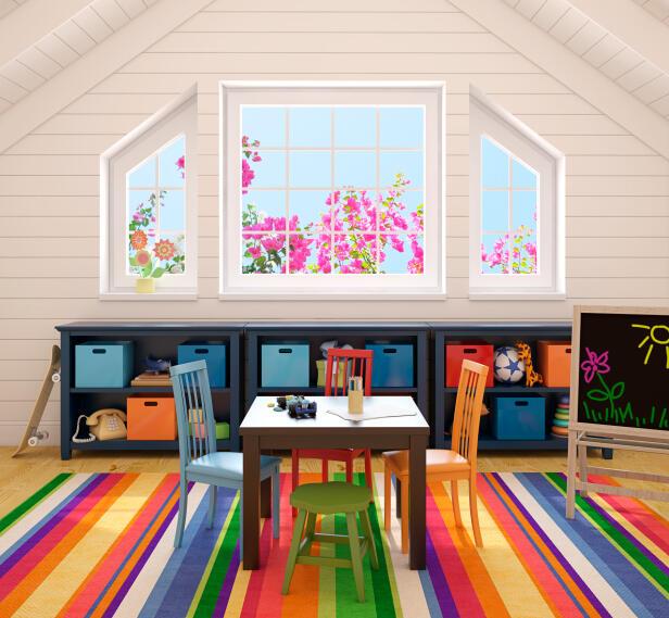 Como iluminar un dormitorio infantil