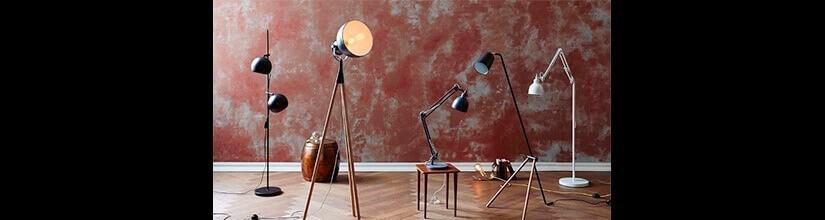 Lámparas de pie de diseño y originales. MEJOR PRECIO