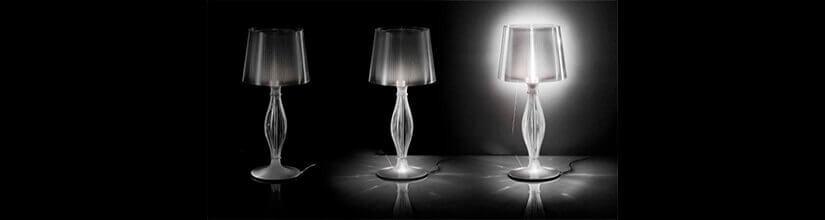 Lámparas de mesa y sobremesa. Modernas y de diseño. OFERTAS