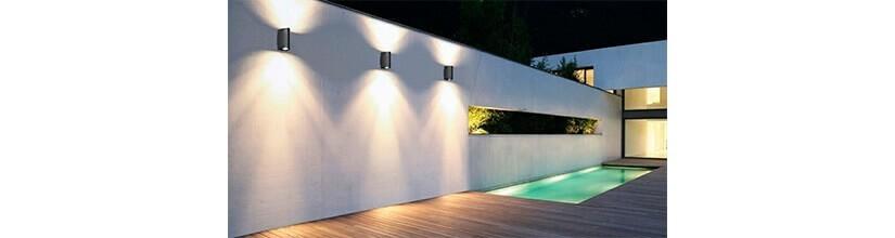 Iluminación exterior. Faroles y plafones techo. MEJOR PRECIO