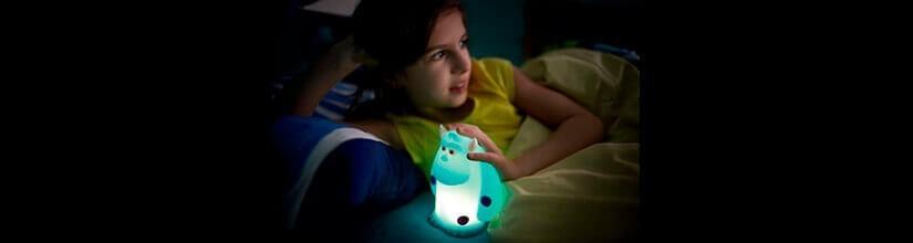 Luz de noche. QUITAMIEDOS para niños.