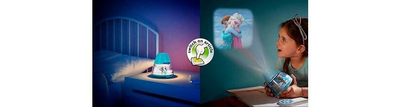 Linternas y proyectores infantiles.Diversión para los peques