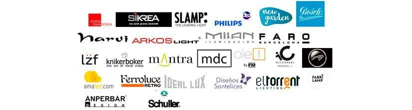 Nuestras marcas de lámparas. Lámparas de diseño
