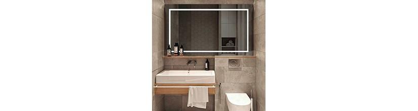 Espejos iluminados. Espejos con luz para baños.